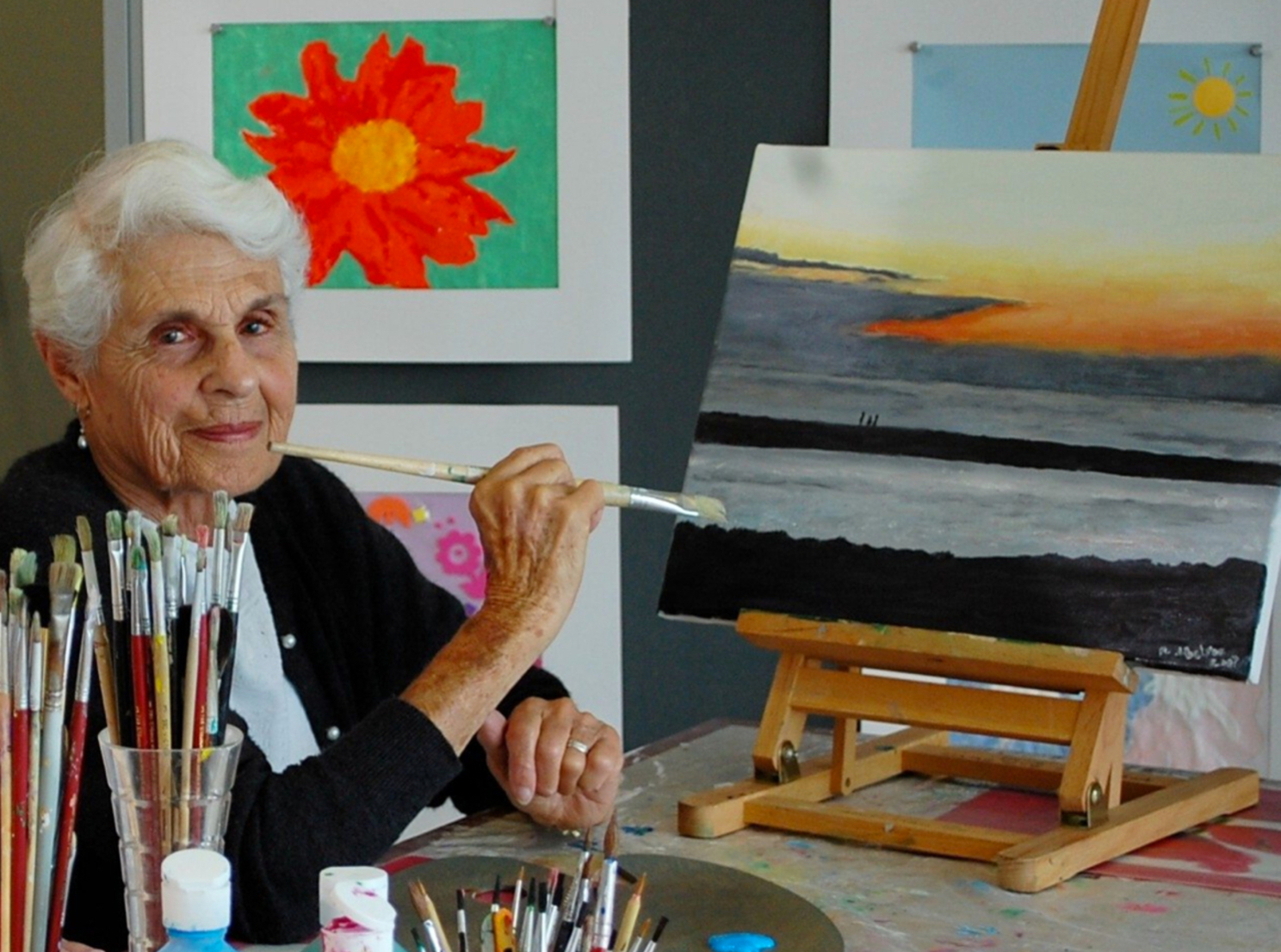 Creativity at menorah park active aging assisted living