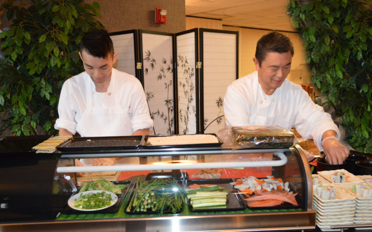 Sushi Experience at Menorah Park Nursing Home Senior Living Elder Care Assisted Living Independent Living Residence